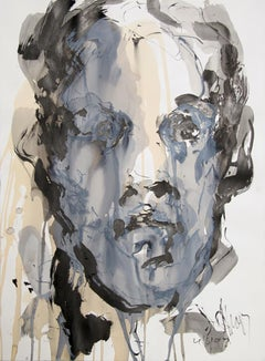 Portrait, Abstract Painting by David Stern