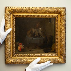 An Interior Scene with Cats, Monkeys and Owls Making Music, David Teniers Circle