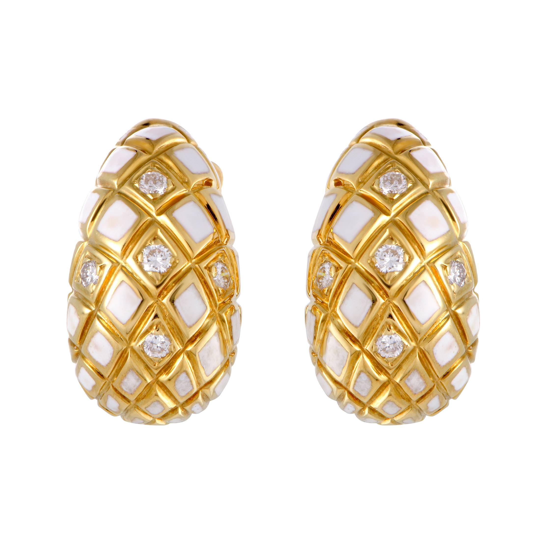 webb david dome stud earrings