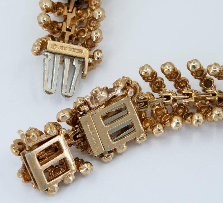 David Webb Diamond Necklace/Bracelets For Sale 1