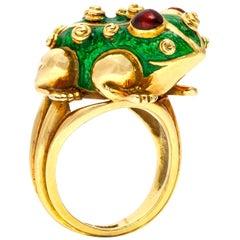 David Webb Frog Ring