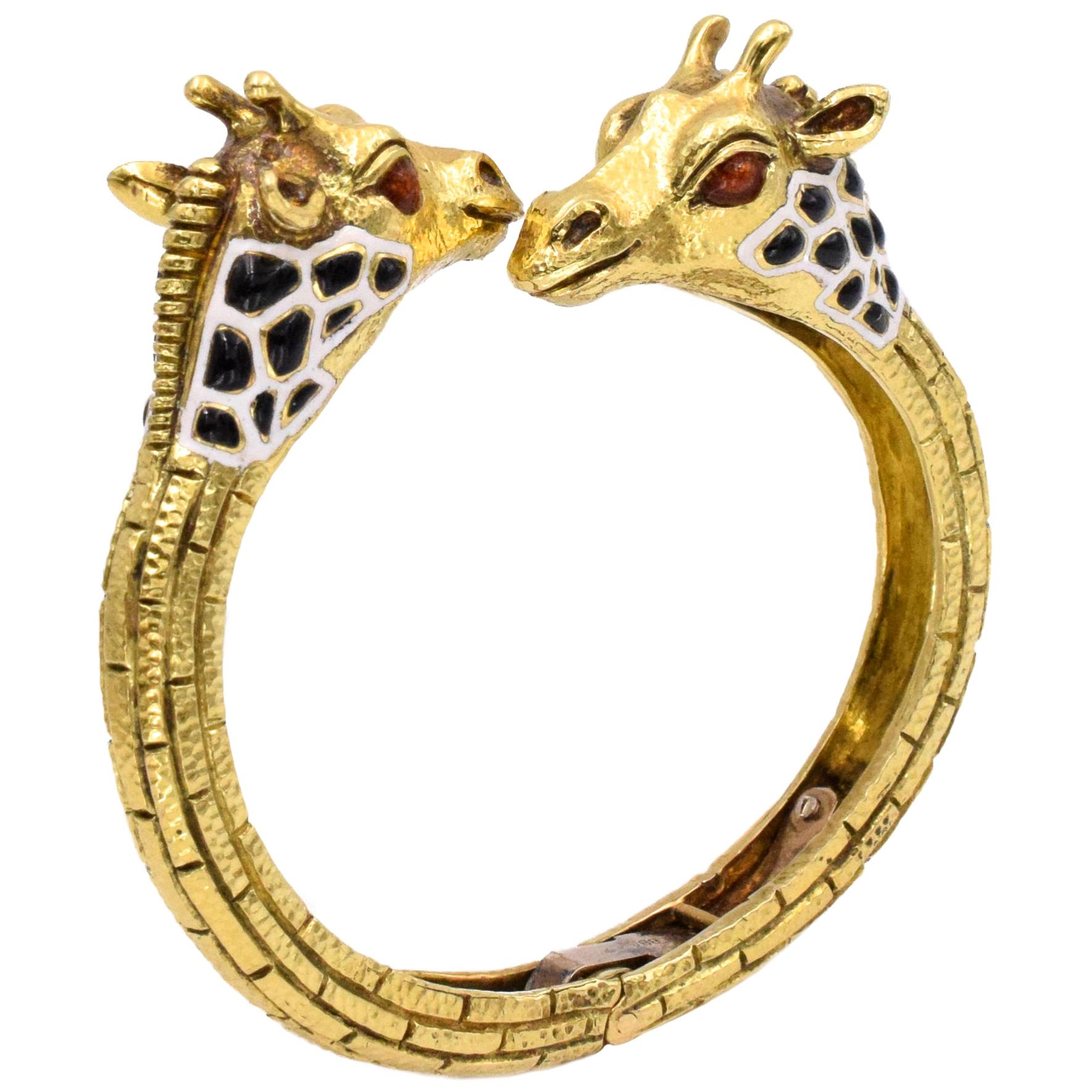 Baby Giraffe Bangle