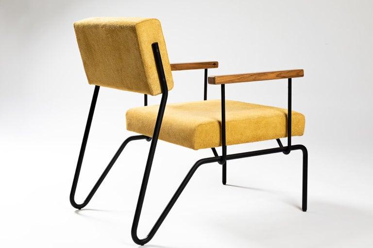 Varnished Minimalist Brazilian armchair