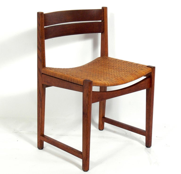 Set of Four Danish Modern Dining Chairs by Hvidt & Mølgaard In Good Condition For Sale In Atlanta, GA