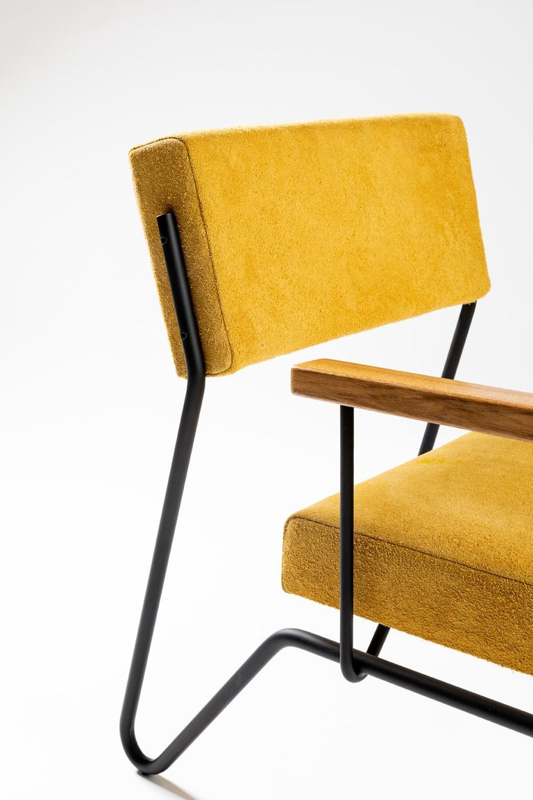 Contemporary Minimalist Brazilian armchair
