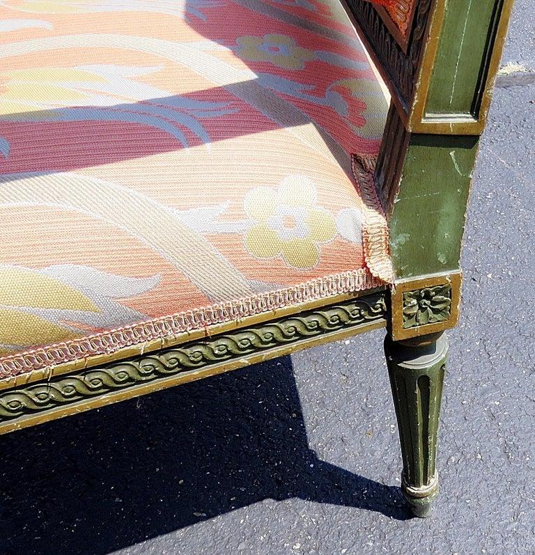 20th Century Pair of Louis XVI Style Armchairs