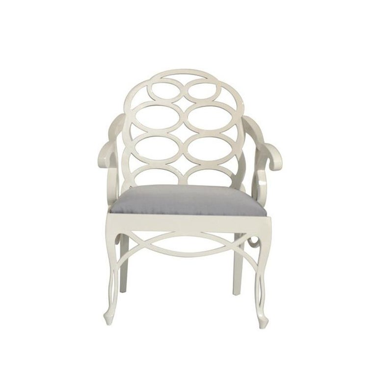 Frances Elkins Loop Chair In Good Condition For Sale In Atlanta, GA