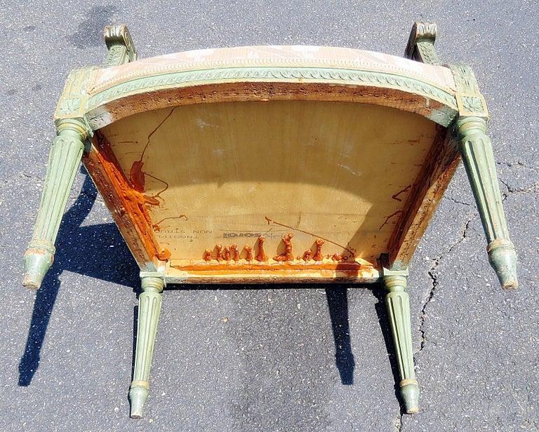 Pair of Louis XVI Style Armchairs 2