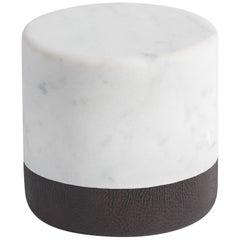 Salvatori Lui & Lei Briefbeschwerer aus Bianco Carrara-Marmor von Vincent Van Duysen