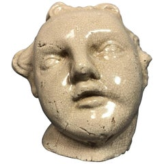 Oversized Early 20th Century Bust