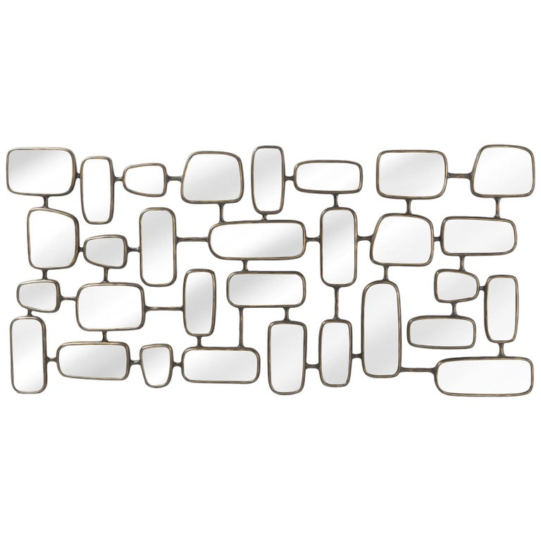 Linked Panels Mirror For Sale