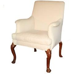 George II Walnuss-Leg Sessel