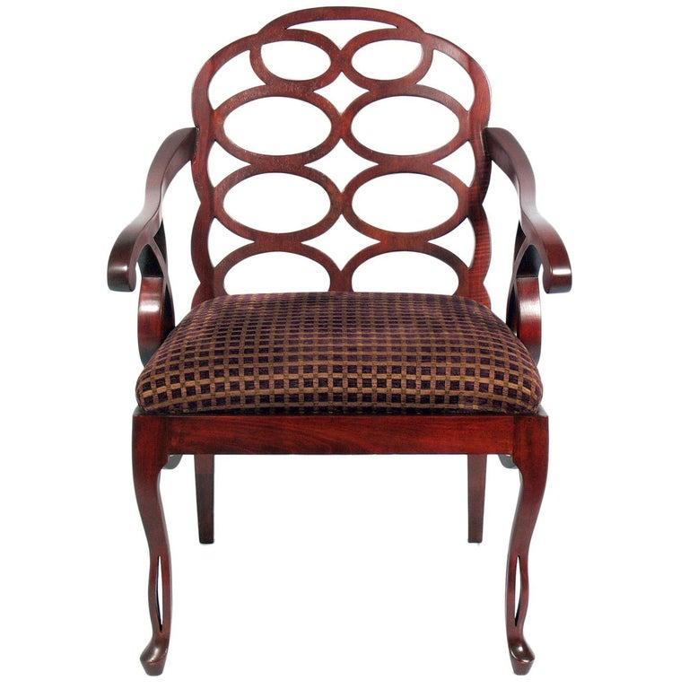 Frances Elkins Loop Chair For Sale