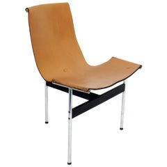 Leather Sling Chair by Katavalos Littell and Kelley