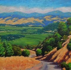 Napa Valley from Oakville Grade