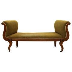 Regency Mahogany Window Seat