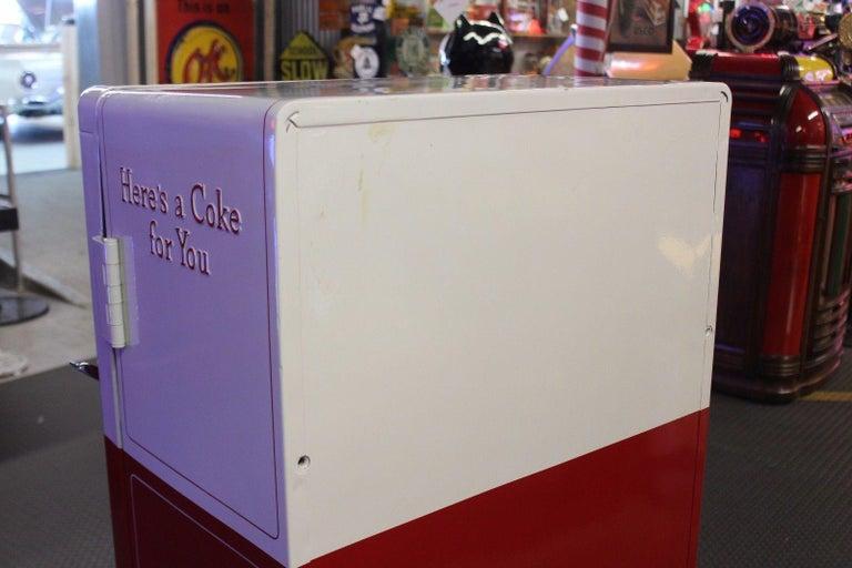 1950s Coca-Cola Westinghouse Model 42 Vending Machine