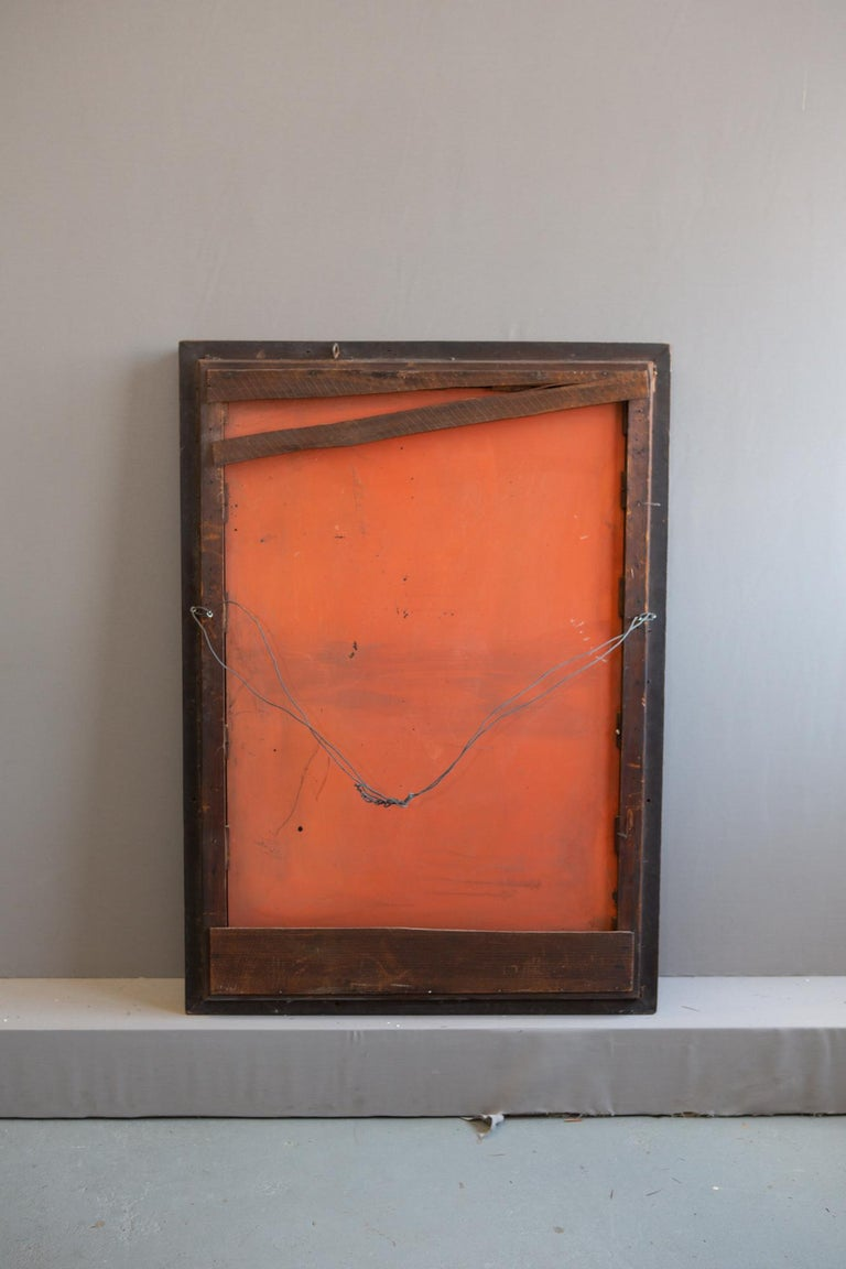 19th Century American Mirror with Antique Glass For Sale 7