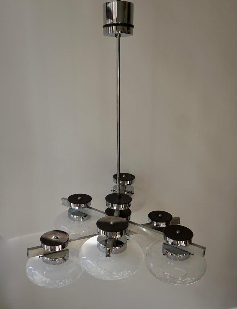 Italian Murano Glass Chandelier For Sale 4