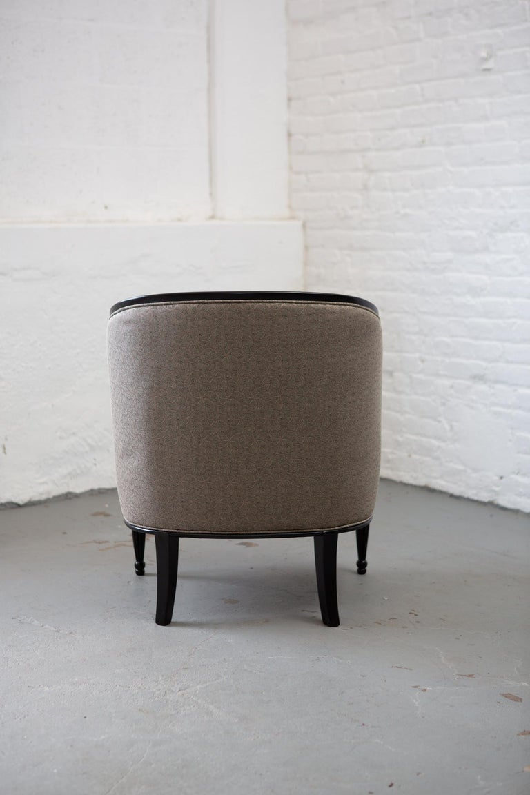 French Art Deco Tub Chair For Sale 7