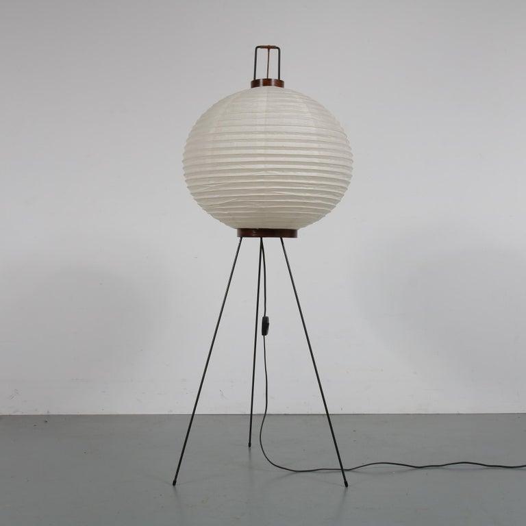 Isamu Noguchi Early Edition Floor Lamp, Japan, 1950 For ...