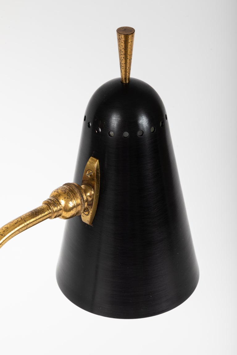 1950s French Table Lamp in the Manner of Pierre Guariche For Sale 8