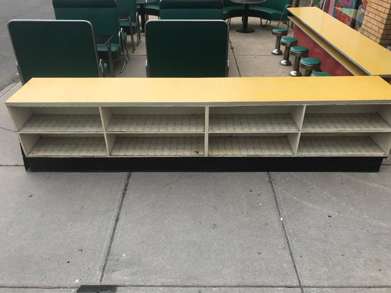 Original Art Deco Diner, Seats 40 Designed by Wolfgang Hoffmann for Howell 1930s For Sale 12