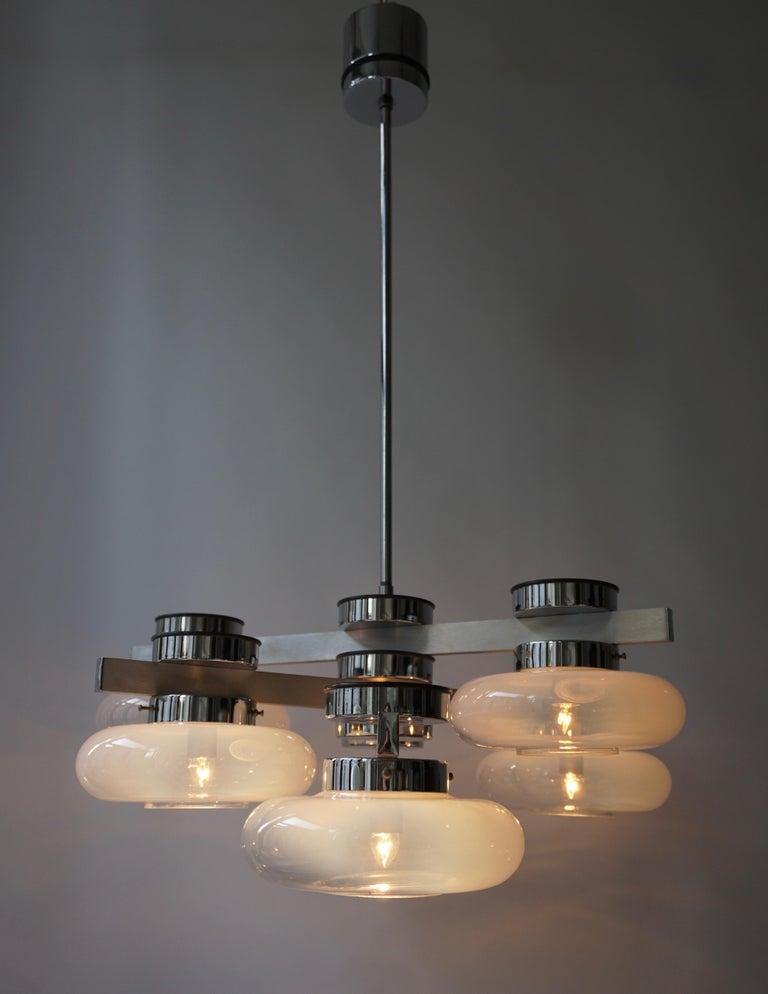 Italian Murano Glass Chandelier For Sale 12