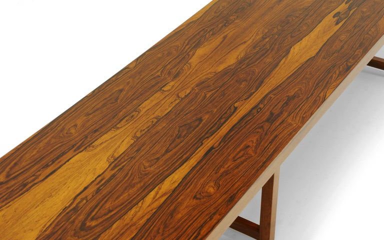 Mid-Century Modern Rosewood Bench or Coffee Table by Milo Baughman For Sale