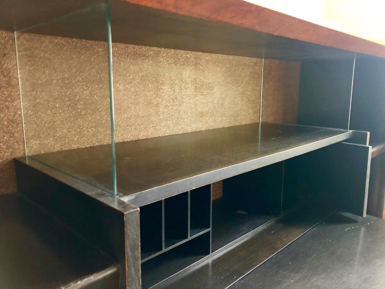Art Deco Gilbert Rohde Paldao Secretary Display Case for Herman Miller For Sale