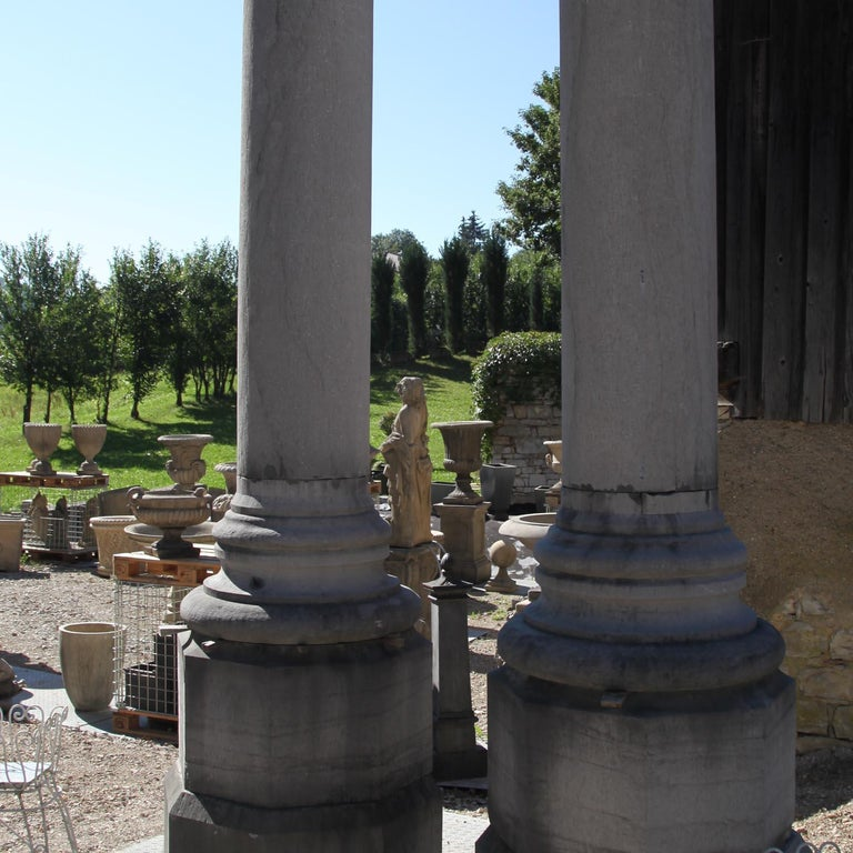 Monumental Pair of Columns In Good Condition For Sale In Greding, DE