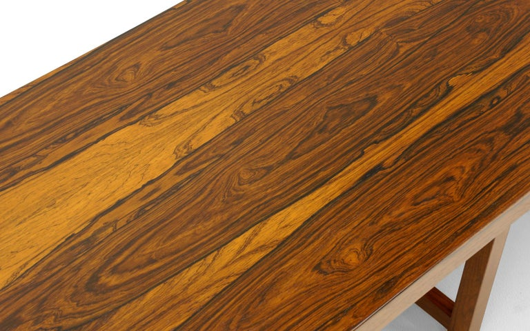 American Rosewood Bench or Coffee Table by Milo Baughman For Sale