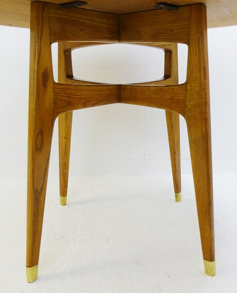 Italian Rond Dinning Table by Gio Ponti, Italy, 1950s