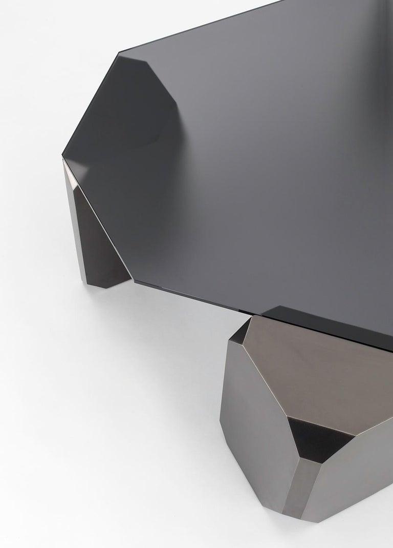 American Stonehenge Coffee Table by Avram Rusu Studio For Sale