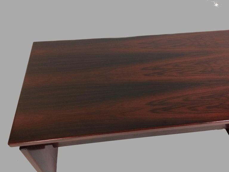 Danish 1990s Excecutive Desk in Rosewood by Bent Silberg for Bent Silberg Mobler For Sale