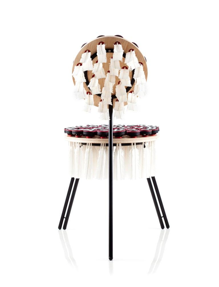 Brazilian Peteca Contemporary Chair For Sale