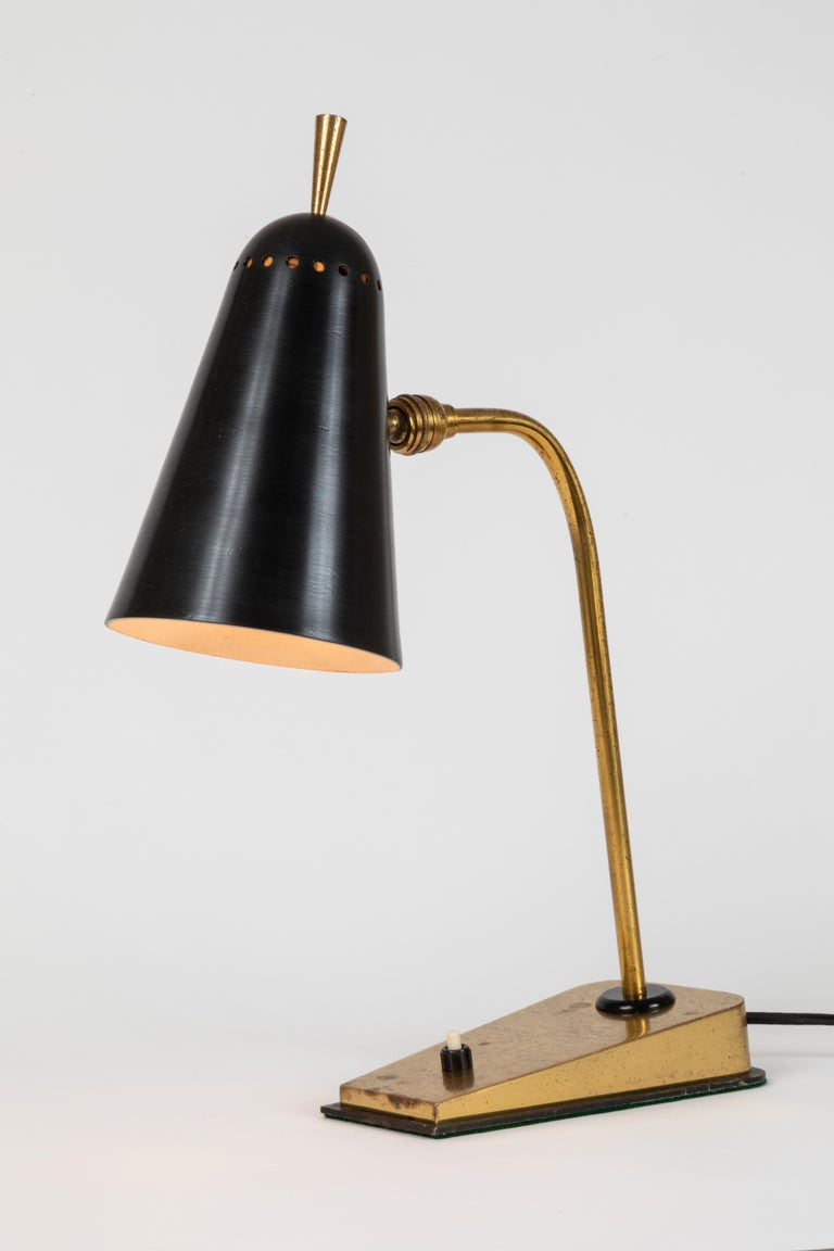 1950s French Table Lamp in the Manner of Pierre Guariche In Good Condition For Sale In Glendale, CA
