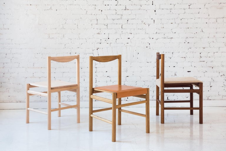Contemporary Wood Range Dining Chair in Hard Maple by Fort Standard For Sale