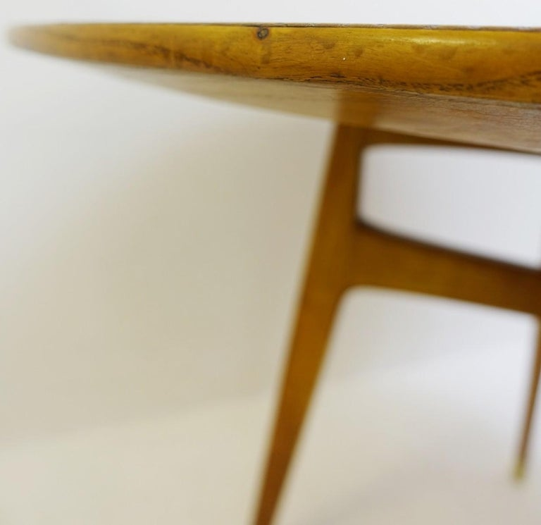 Mid-20th Century Rond Dinning Table by Gio Ponti, Italy, 1950s