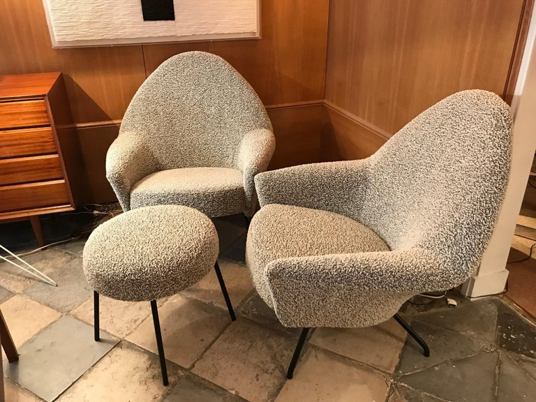 Mid-20th Century Armchairs Model 770 by Joseph-André Motte For Sale