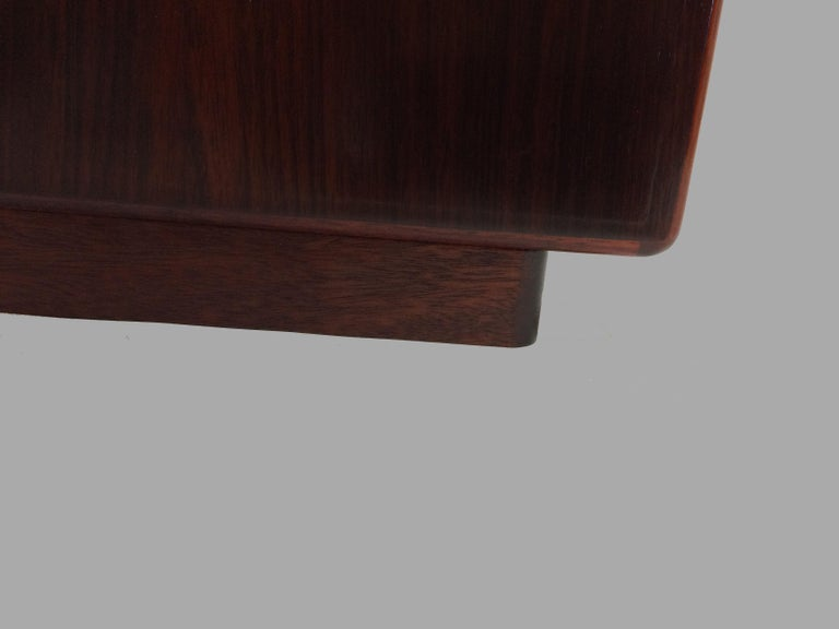 1990s Excecutive Desk in Rosewood by Bent Silberg for Bent Silberg Mobler For Sale 1