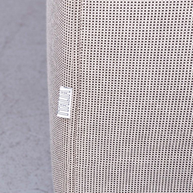 B&B Italia Basiko Fabric Sofa Grey Two-Seat Couch 2