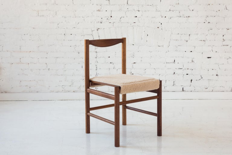 Wood Range Dining Chair in Hard Maple by Fort Standard For Sale 4