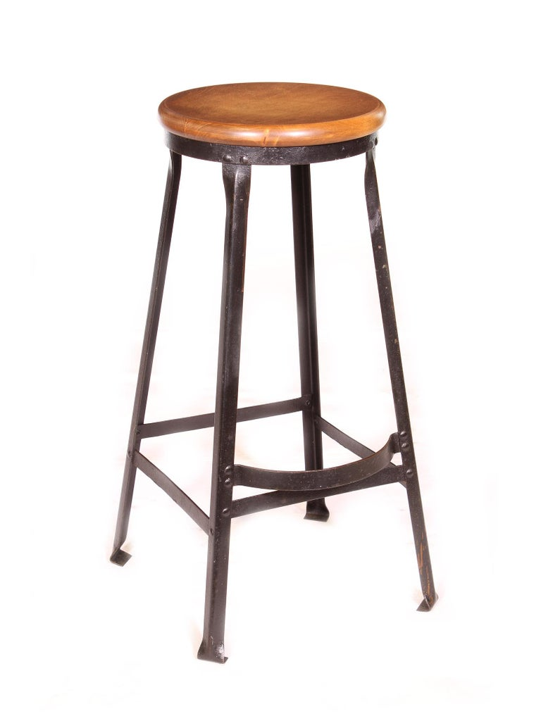 Factory Shop Bar Stool For Sale At 1stdibs