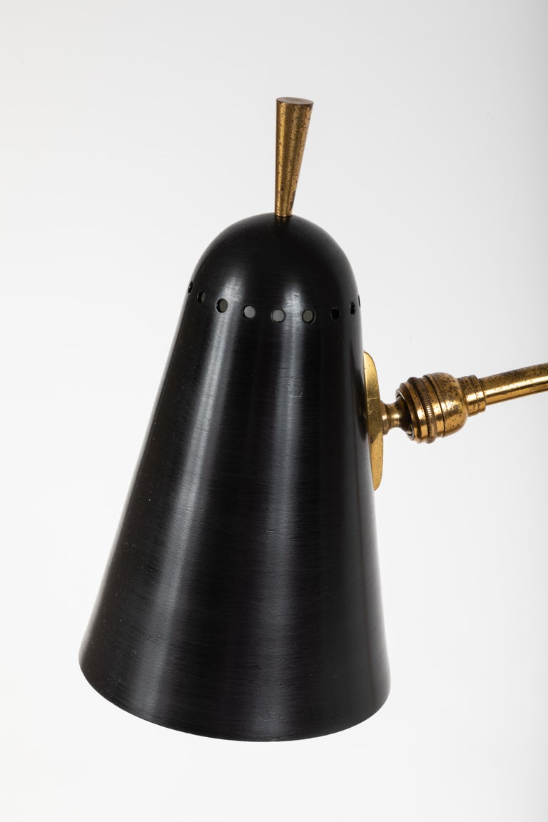 1950s French Table Lamp in the Manner of Pierre Guariche For Sale 2