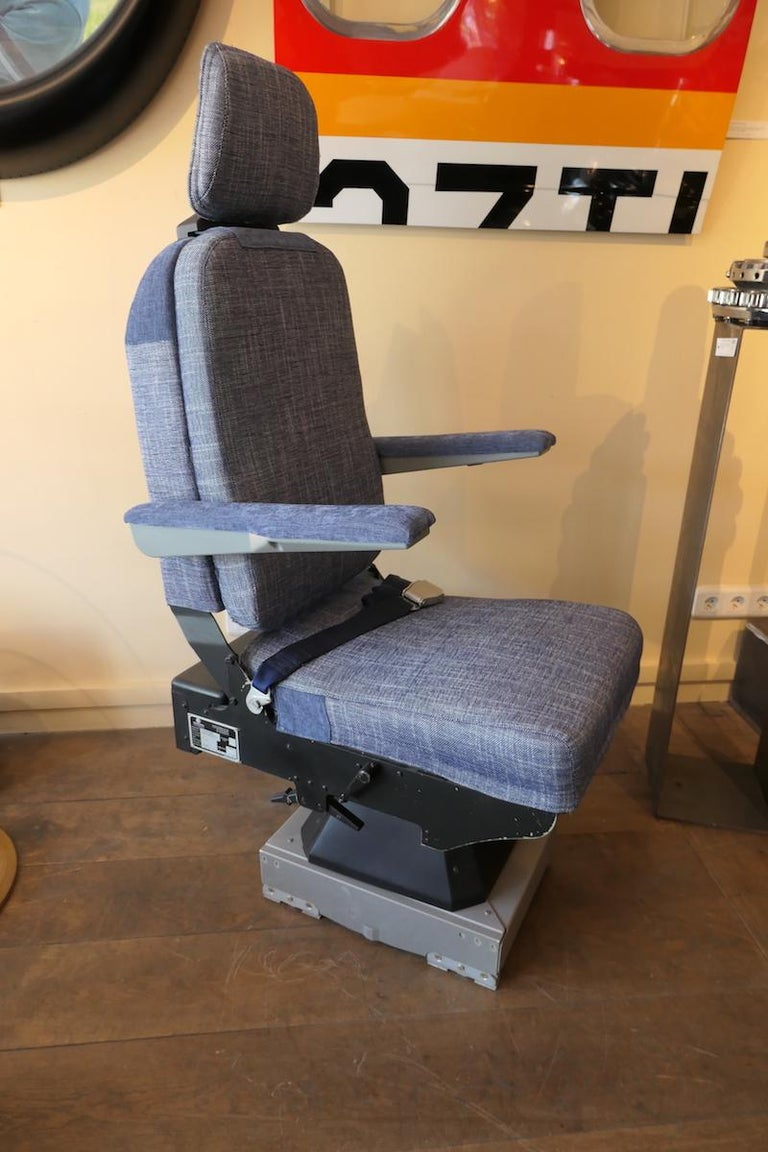 Operator Airplane Seat Built by Sogerma from a Douglas DC-8 For Sale 2