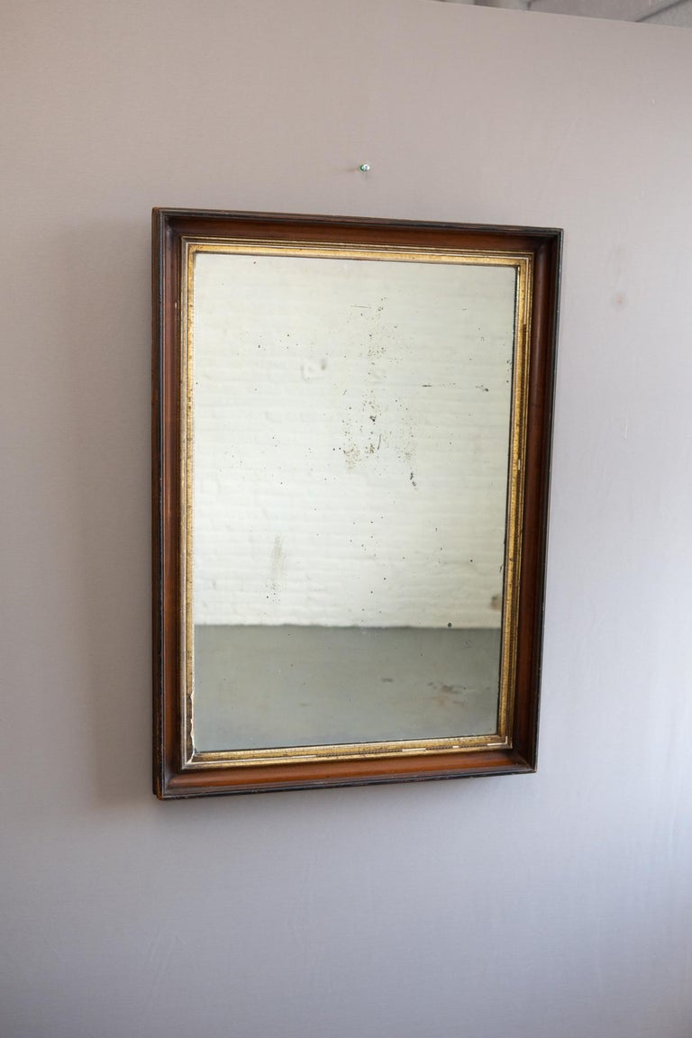 19th Century American Mirror with Antique Glass For Sale 6