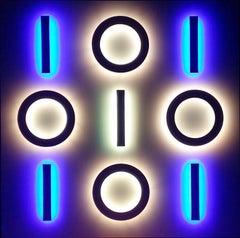 Reflexionen auf Muster und Zeichen, Lichter von Erwin Redl