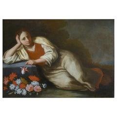 Natura Morta, Giulio Romani 17th Century Oil on Canvas Still Life Painting