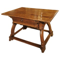 17th Century Swiss Money Changer Table